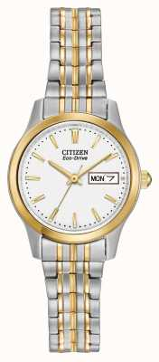 Citizen Damen Armband Ausbau eco-drive EW3154-90A