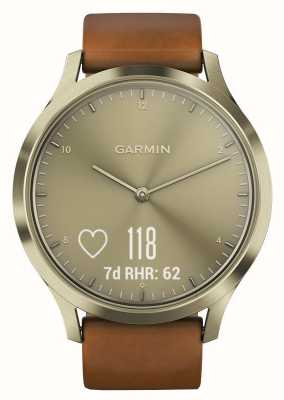 Garmin Vivomove hr (small / medium) Premium-Aktivitäts-Tracker Gold 010-01850-05