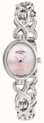 Rotary Damen Silber LB20214/07 Armbanduhr  LBI20214/07