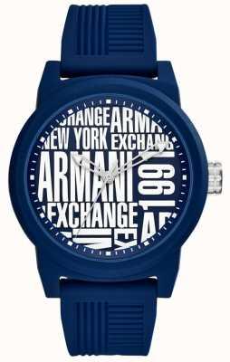 Armani Exchange Mens atlc Silikonband AX1444