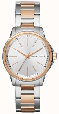 Armani Exchange Damen Damen Edelstahlband AX4363