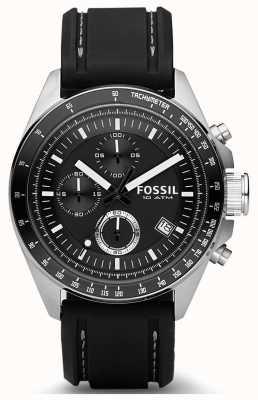 Fossil Decker Silikonband für Herren CH2573IE
