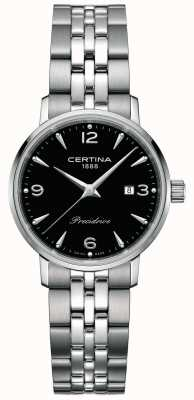 Certina Damen ds caimano 28mm Stahlquarz C0352101105700