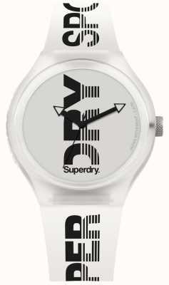 Superdry Urban XL Sport weiß Silikonband SYG189W