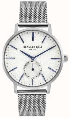 Kenneth Cole Mens Edelstahl-Zifferblatt KC50055002