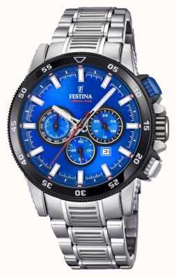 Festina Chronobike-Uhrarmbanduhr aus Edelstahl F20352/2