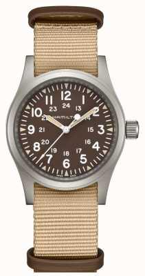 Hamilton Khaki Feld mechanische Nato-Armband H69429901