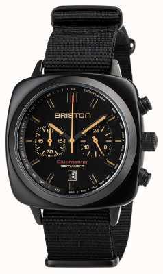 Briston | clubmaster sport schwarz matt | 18142.PBAM.BS.4.NB