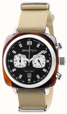 Briston Mens clubmaster Sport Ikonen Uhr 17142.SA.TS.1.NK