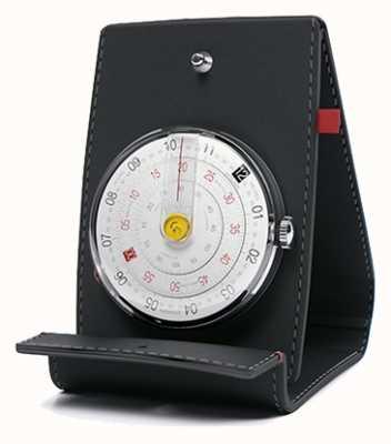 Klokers Klok 01 schwarzer Uhrenkopf Schreibtisch und Tasche KLOK-01-D2+KPART-01-C2