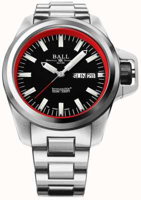 Ball Watch Company Limitierte Ausgabe devgru engineer Kohlenwasserstoff NM3200C-SJ-BKRD