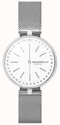 Skagen Signatur verbundenes Smartwatch-Edelstahlnetz SKT1400