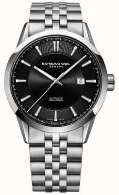 Raymond Weil Freelancer Automatikarmband aus Edelstahl für Herren 2731-ST-20001