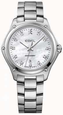 EBEL Frauen Diamant Entdeckung Perlmutt Edelstahl 1216394