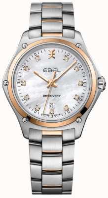 EBEL Damen Diamantentdeckung Perlmutt Edelstahl 1216397