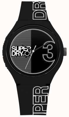 Superdry Urban xl fusion matt schwarz weiß drucken SYG239BW