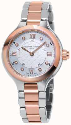 Frederique Constant Uhrmacheruhr für Damen begeistert mit zweifarbigem Roségold FC-281WHD3ER2B