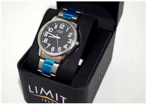 Limit | herren | schwarzes Zifferblatt | Edelstahlarmband | 5648