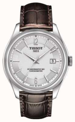 Tissot Ballade powermatic 80 cosc Chronometer braunes Lederarmband T1084081603700