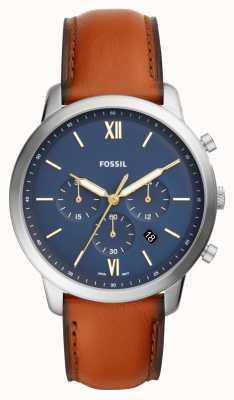 fossil neely uhr blau
