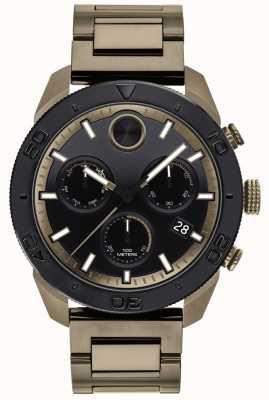 Movado Fettgeschmücktes Herren-Armband mit Sportchronograph 3600513
