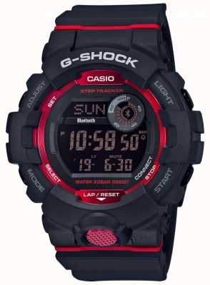 Casio G-Squad schwarz / rot digitaler Bluetooth-Step-Tracker GBD-800-1ER