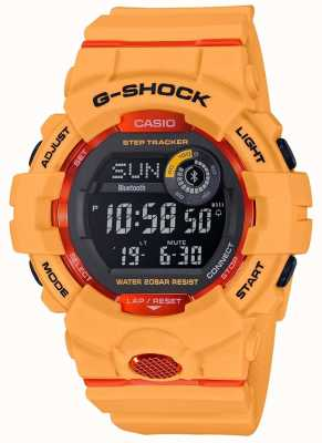 Casio G-Squad orange digitaler Bluetooth Schrittverfolger GBD-800-4ER
