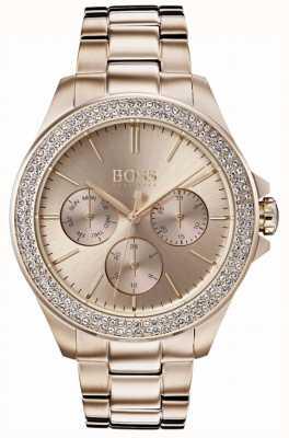 Boss Damen Armband mit Premiere-Kristallen, vergoldet 1502443