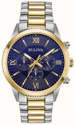 Bulova Damen-Chronographenuhr | Edelstahlarmband | 98A220