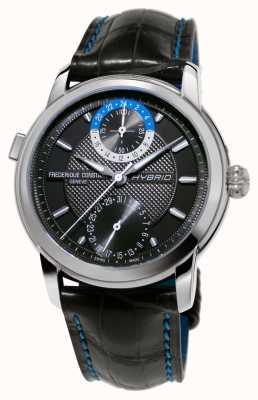 Frederique Constant Hybrid-Manufaktur 3.0 automatische Smartwatch schwarzen Gurt FC-750DG4H6