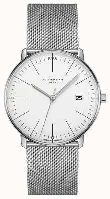Junghans Max Rechnung Mega Mf Mailänder Edelstahl Armband 058/4821.44