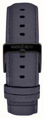 Weird Ape Blauviolette Wildleder 20mm Band schwarze Schnalle ST01-000079