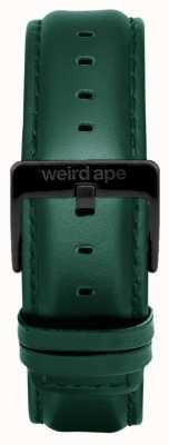 Weird Ape Dunkelblaues Lederarmband 20 mm, schwarze Schnalle ST01-000075