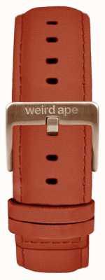 Weird Ape Rust Wildleder 20mm Riemen nur Roségold Schnalle ST01-000094