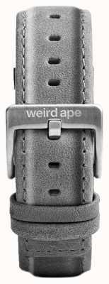 Weird Ape Schiefer grau Wildleder 20mm Band Silberschnalle ST01-000016