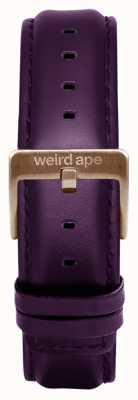 Weird Ape Purpleheather 16mm Band Roségold Schnalle ST01-000036