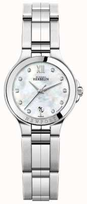 Michel Herbelin Damen newport royale Edelstahl Uhr 14298/B89