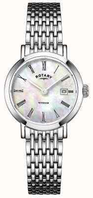 Rotary Damenarmbanduhr aus Edelstahl LB05300/39