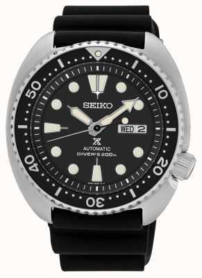 Seiko Mens prospex automatische Schildkröte Taucheruhr schwarz SRP777K1