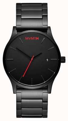 MVMT Klassische schwarze Verbindung | schwarzer pvd | schwarzes Zifferblatt D-L213.5B.551