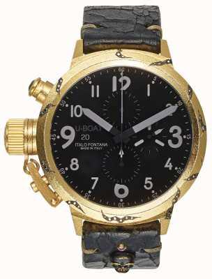 U-Boat Herren Flightdeck 50 Hera Gold Gehäuse 7391