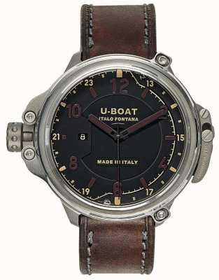 U-Boat Limited Edition Kapsel 50 schwarz 7469