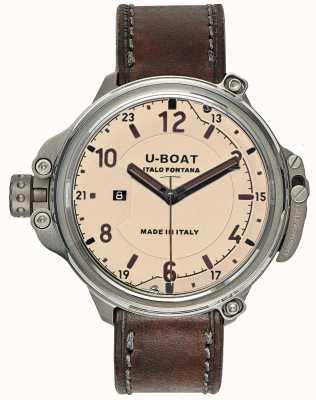 U-Boat Mens Kapsel 50 beige limitierte Auflage 7470
