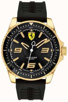 Scuderia Ferrari Herren xx kers vergoldetes Gehäuse aus Kautschuk 0830485