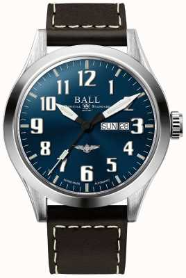 Ball Watch Company Engineer iii Silber Stern blau Zifferblatt Tag und Datum anzuzeigen NM2180C-L2J-BE