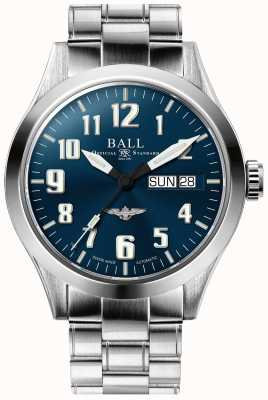 Ball Watch Company Engineer iii Silber Stern blaues Zifferblatt Edelstahlarmband NM2182C-S2J-BE
