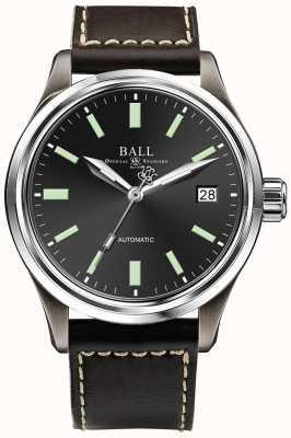 Ball Watch Company Trainmaster Titan Automatik schwarz Zifferblatt Datumsanzeige NM1038D-L5J-BK