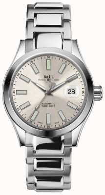 Ball Watch Company Automatische Champagnerzifferblatt-Datumsanzeige des Engineer II Marvelight NM2026C-S6-SL