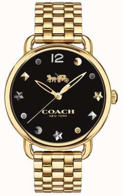 Coach Delancey Damen Armband aus goldfarbenem Ton 14502813
