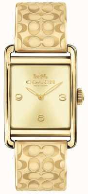 Coach Womens Renwick Uhr Goldton 14502849